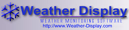 Weather Display banner